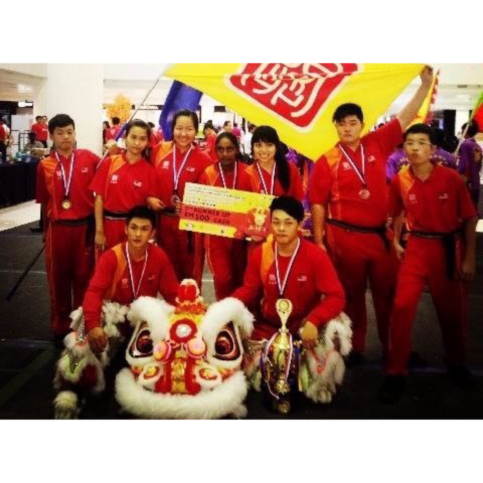 2013 Mahkota Parade traditional Southern Lion Championship [Second runner-up]